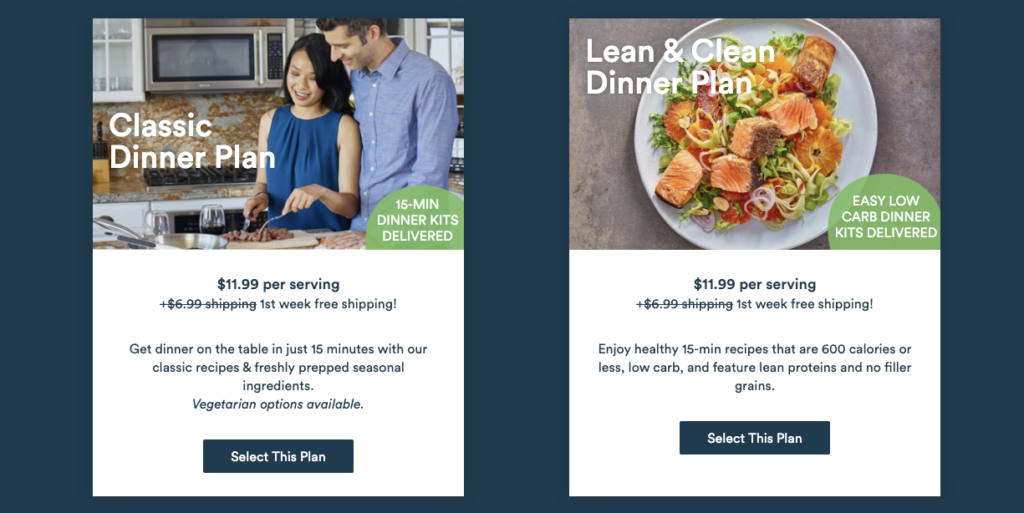 Gobble vs Blue Apron: comparison