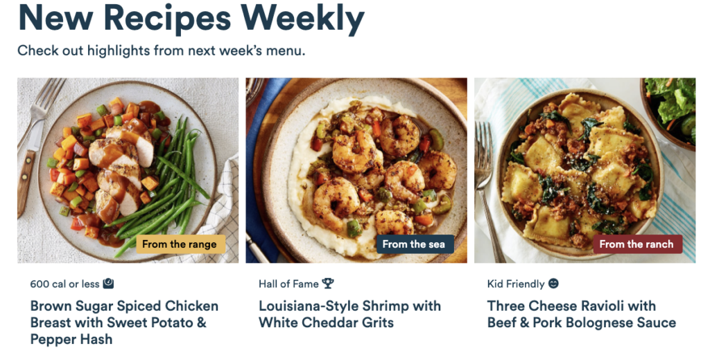 Comparison of Blue Apron and Gobble